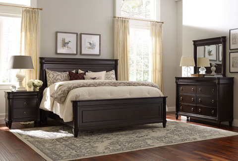 Broyhill Furniture - Aryell Cacao Three Drawer Nightstand - 4907-293