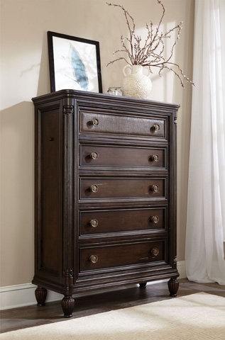 Broyhill Furniture - Jessa Five Drawer Chest - 4980-240