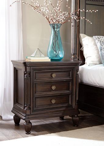 Broyhill Furniture - Jessa Three Drawer Nightstand - 4980-293