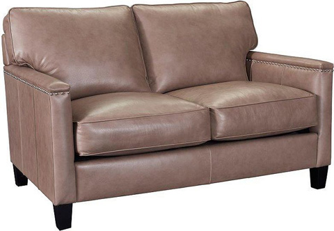 Broyhill Furniture - Heuer Leather Loveseat - L4260-1