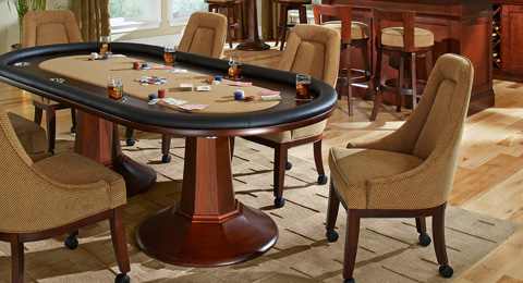 California House - Chair with Casters - C8210