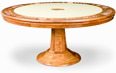 California House - Game Table with Storage - T42-RND-APT-GS