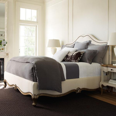 Caracole - French Kiss King Bed - TRA-KINBED-013