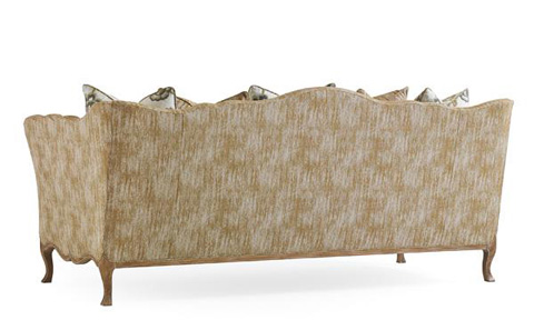 Caracole - Embrace Your Curves Sofa - UPH-SOFWOO-46A