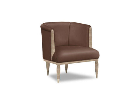 Caracole - Stike A Pose Leather Chair - UPH-CHAWOO-22L
