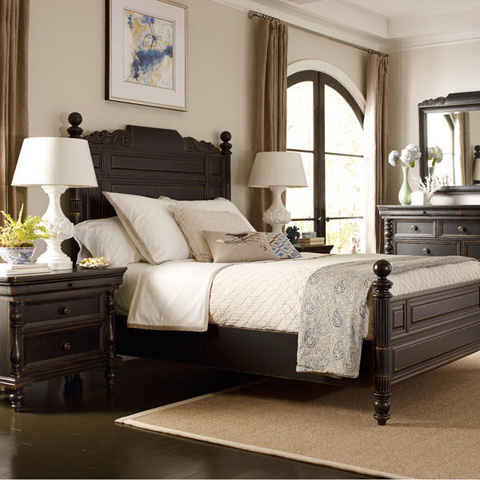 Caracole - Sable Point Queen Bed - 9213-301