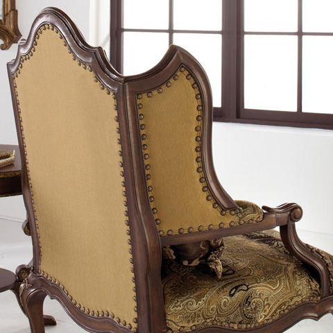 Caracole - Degas Wood Wing Chair - A100-404-B