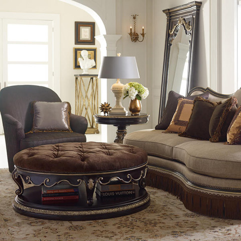 Caracole - Mezzanotte Swivel Chair - B020-055-A