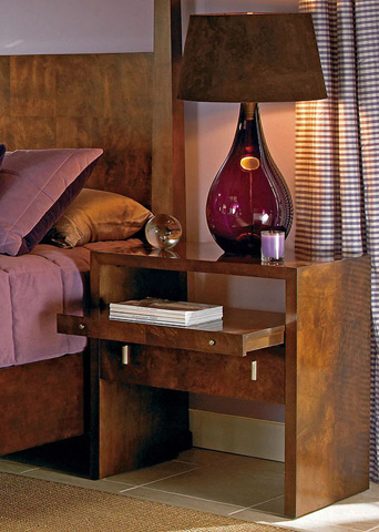Century Furniture - One Drawer Bedside Table - 559-224