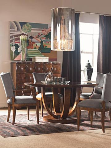 Century Furniture - Round Pedestal Dining Table - 559-312