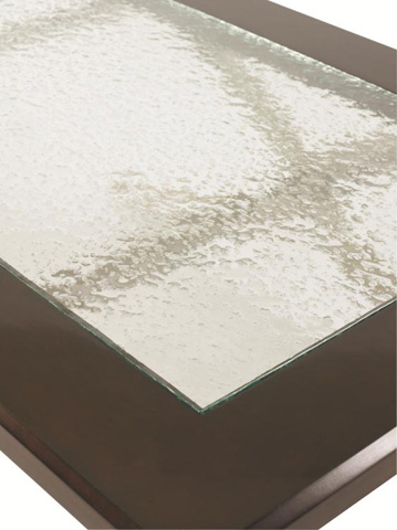 Century Furniture - X-Frame Glass Top Cocktail Table - 559-601