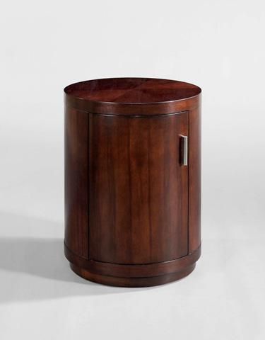 Century Furniture - Circular Door Commode Accent Table - 849-627L