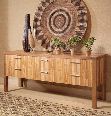 Century Furniture - Six Drawer Console - 849-727