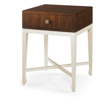 Century Furniture - Baise Chairside Table with Drawer Box - 699-626