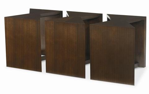 Century Furniture - Geometric Bunching Cocktail Table - 33H-609