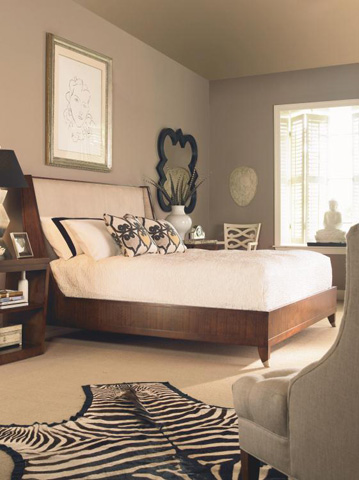 Century Furniture - Queen Upholstered Platform Bed - 559-105