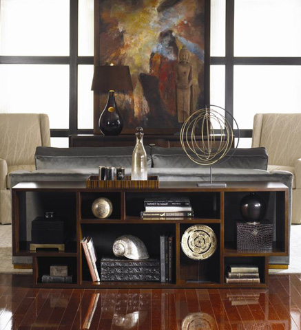 Century Furniture - Geometric Entertainment Bookcase - 419-776