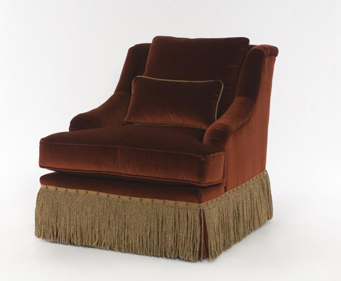 Century Furniture - Portola Skirted Chair - 11-604G