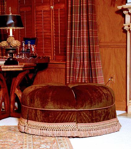 Century Furniture - Arden Ottoman - 33-507
