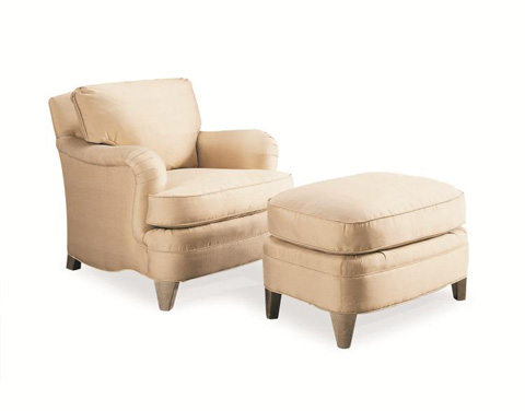 Century Furniture - Yates Ottoman - 33-767