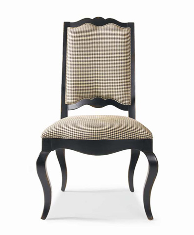 Century Furniture - Upholstered Ladderback Side Chair - 3438S