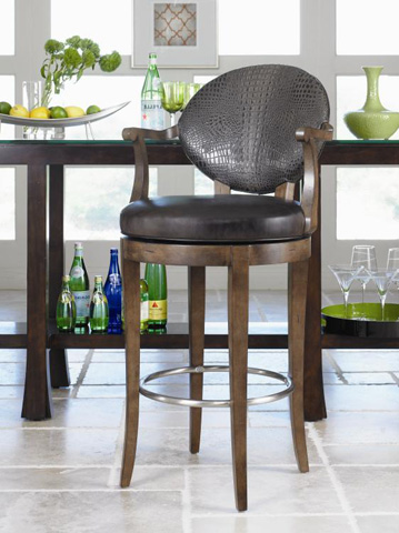 Century Furniture - Bryant Swivel Barstool - 3800B-1