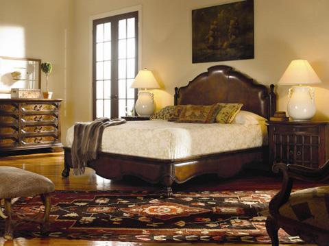 Century Furniture - King Bergantin Bed - 661-146