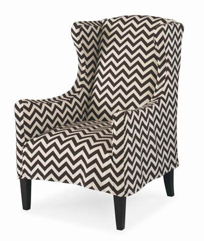 Century Furniture - Gisele Wing Chair - ESN248-6