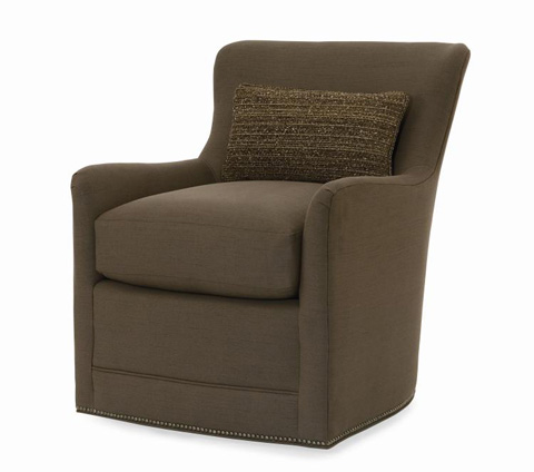 Century Furniture - City Swivel Chair - ESN267-8