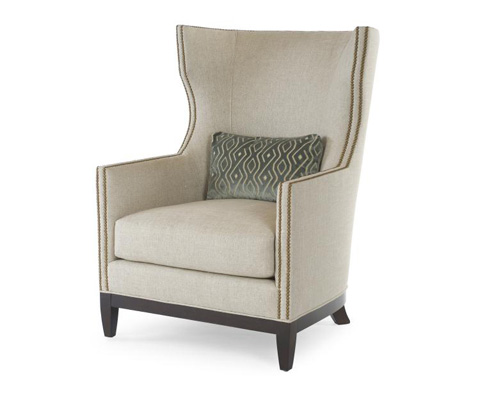 Century Furniture - Townsend Wing Chair - LR-18233