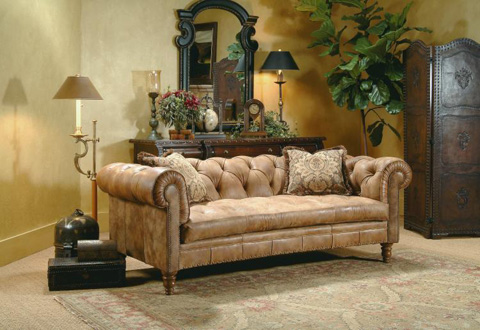 Century Furniture - Chesterfield Sofa - LR-28060