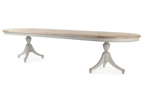Century Furniture - Madeline Double Pedestal Table - MN5562
