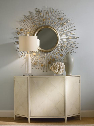 Century Furniture - Round Beveled Mirror - SF5095