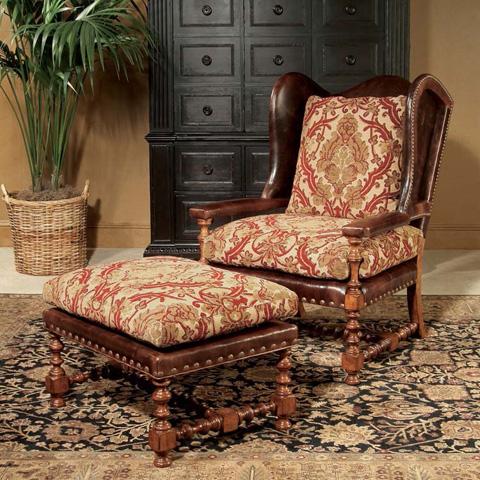 Century Furniture - Cadbury Ottoman - 3216O
