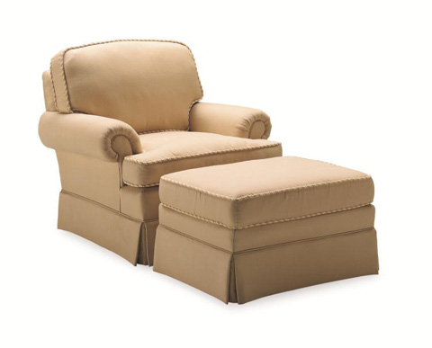 Century Furniture - Rugby Ottoman - 33-764