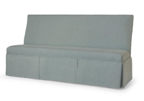 Century Furniture - Skirted Right Facing Corner Banquette - 3382-1-SK