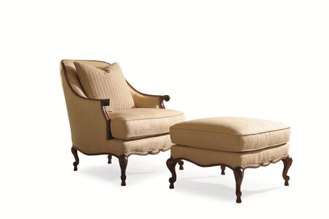 Century Furniture - Townsend Ottoman - 33-996
