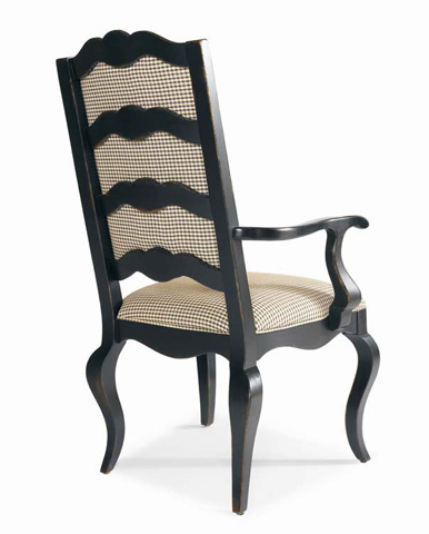 Century Furniture - Upholstered Ladderback Arm Chair - 429-522