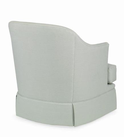 Century Furniture - Carina Skirted Swivel Chair - LTD5228-8SK