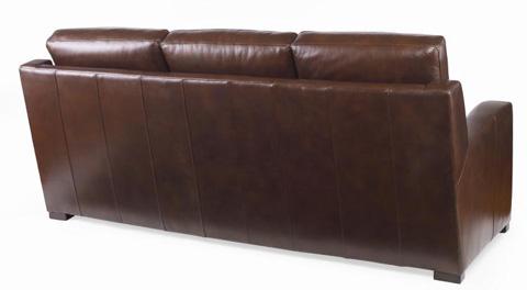 Century Furniture - Leather Sofa - PLR-7102-LOAM