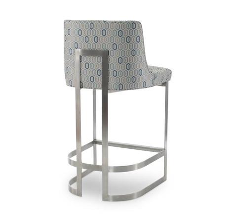 Century Furniture - Copenhagen Stainless Barstool - 3392B-1