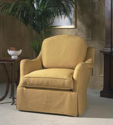 Century Furniture - Oleander Swivel Caster Chair - 11-626SC