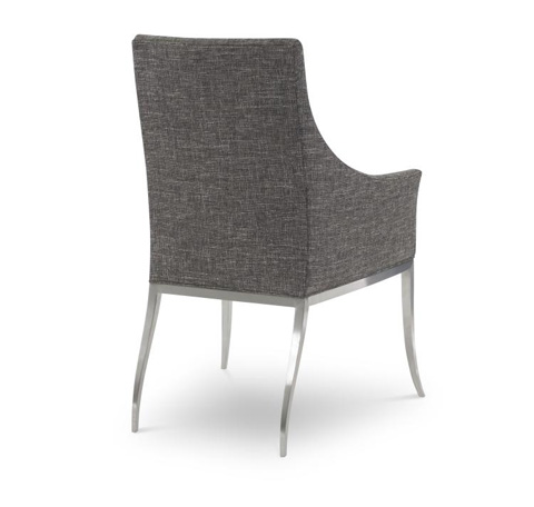 Century Furniture - Mica Stainless Arm Chair - 3387A-1