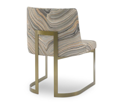 Century Furniture - Copenhagen Brass Arm Chair - 3388A-2