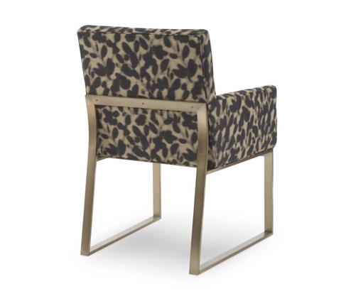 Century Furniture - Iris Brass Arm Chair - 3389A-2