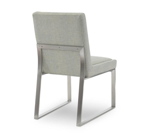 Century Furniture - Iris Stainless Side Chair - 3389S-1