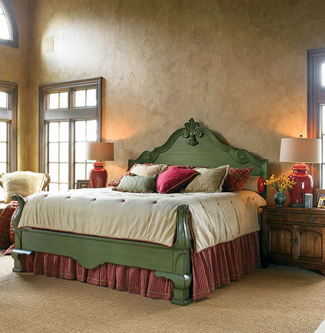 Century Furniture - Queen Bed - 429-185