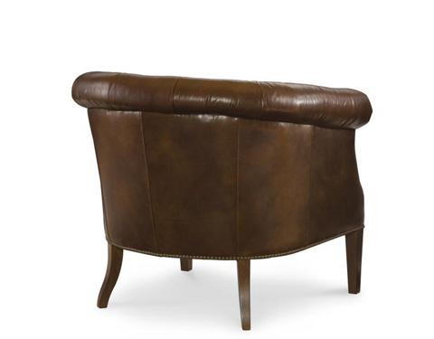 Century Furniture - Leather Pub Chair - PLR-8906-BRUIN