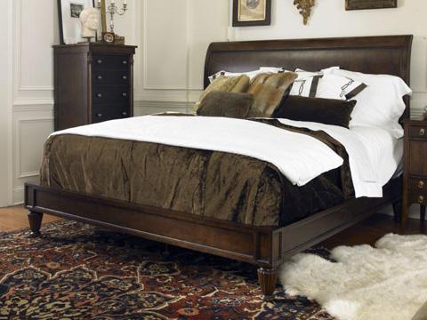 Century Furniture - King Knightsbridge Platform Bed - 369-176