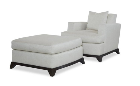 Century Furniture - Aero Ottoman - AE-33-1079